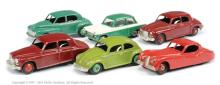 GRP inc Dinky unboxed Morris Oxford - green