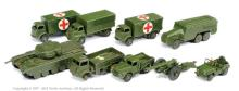 GRP inc Dinky unboxed Military 2 x