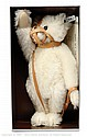 Steiff white Muzzle Bear replica, 1908, 1990