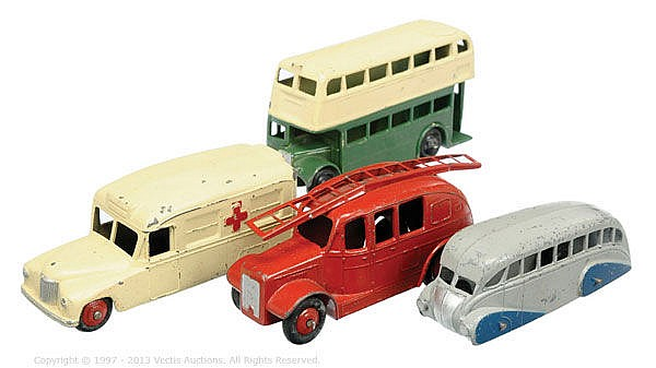 GRP inc Dinky unboxed Public Service and
