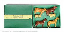 Dinky No.2 Farmyard Animals Set 6 pieces