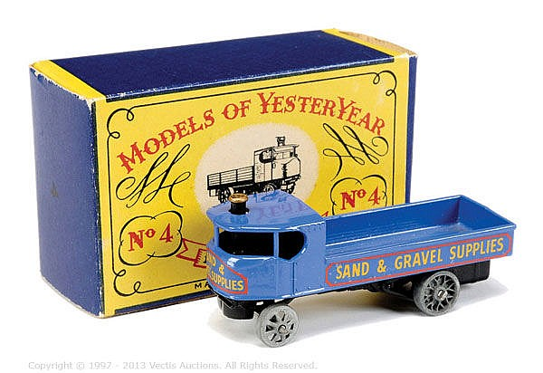 Matchbox Models of Yesteryear No.Y4 Sentinel
