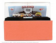 Il Bialbero Alfa Romeo 2000 car set - white