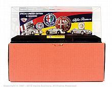 Il Bialbero Alfa Romeo race car set - 3 silver