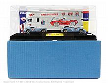 Il Bialbero Alfa Romeo transporter and car set
