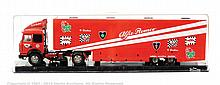 Il Bialbero old cars Alfa Romeo race truck - red