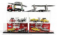 GRP inc Il Bialbero car transporter, set and car