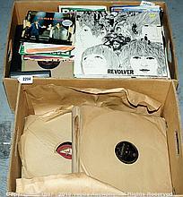 QTY inc Large quantity of vinyl Records both