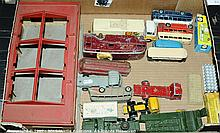 GRP inc  English and French Dinky Toys Buses