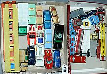 GRP inc Corgi/Dinky unboxed Cars and Commercials