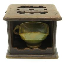 19th Century Foot Warmer with Test