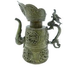 Tibetan Copper Pitcher