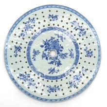 18th Century China Porcelain Trivet