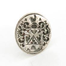 18th Century Amsterdam Silver Watch FOB