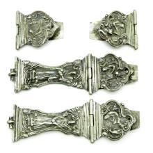 Dutch Silver Bible Locks