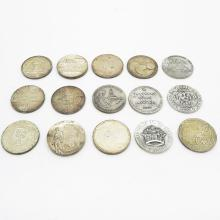 Lot of 15 Jewish Coins