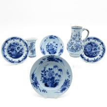 Lot of Delft Pottery