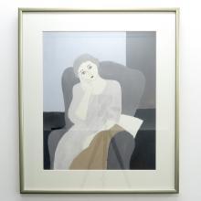 Jan Hoogsteyns Acrylic on Paper