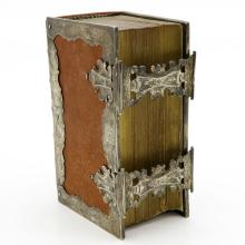 19th Century Bible with Fine Double Silver Clasp
