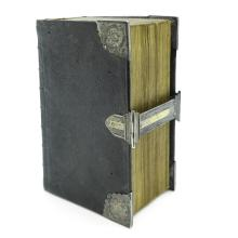 18th Century Bible with Etchings