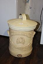 Antique water filter , T. Davidson's Limestone