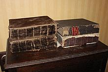Four early bibles, dated 1808 etc (4)