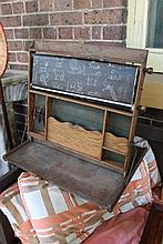 Early antique Childs learning aide, with original