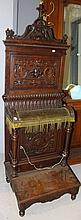 Impressive Antique French carved walnut and oak