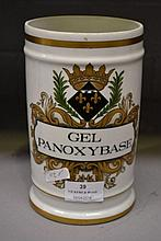 French Chemist jar Gel Panoxybase