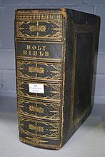 Antique leather bound Cassell's Illustrated Family