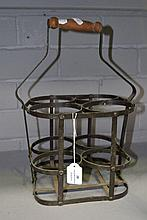 French bottle basket