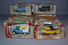Small collection of boxed Corgi cars