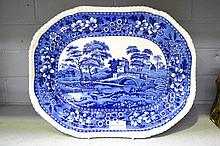 Antique Copeland Spode, Spode Tower platter,