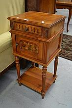 Antique French Henri II nightstand
