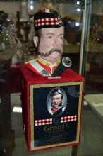Grant's 25 Year Old very rare blended scotch whisky, William Grant character jug, specially commissioned from Royal Doulton