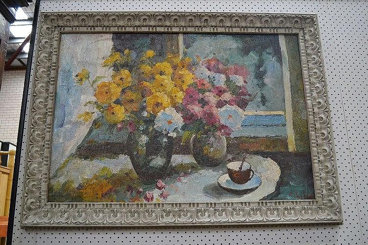 Still life, French Impressionist school, signed