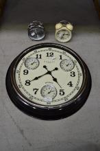 Three contemporary clocks (3)