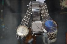 Three gents watches to include Seiko, Relide & Fondini (3)