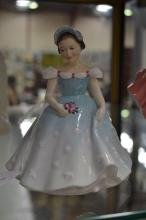 Royal Doulton 'The Bridesmaid HN 2196' figure, 13cm H