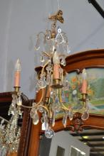 Vintage French four light Chandelier