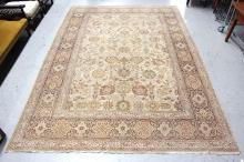 Large Turkish hand knotted carpet of Autumn tones, 288 x 388 cm ex Robin Cosgrove carpets, approx 405cm x 285cm