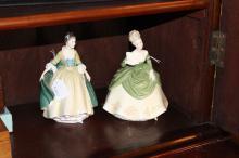 Royal Doulton Elegance figure HN 2264 along with Royal Doulton Soiree figure, HN 2312, approx 19cm H & 20cm H (2)