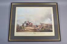 Framed print The Battle of Salamaca