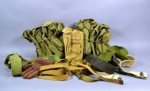 Bulk lot 37 pouches, miscellaneous strap