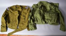 Chaplan tankers suit, 1986 along battle dress jacket (maijai park)