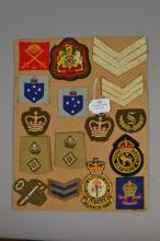 Group of sixteen Australian Army rank insignia (16)