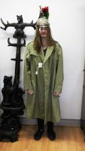 Vintage French Officers trench coat, in unused as new condition.Labelled for Armee Francaise impermeable pour officier