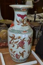 Antique 19th Century Chinese porcelain vase, approx 46cm H