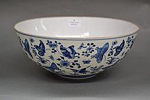 Fine Chinese porcelain blue and white egg shell