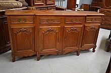 Good vintage French Louis XV style parquetry